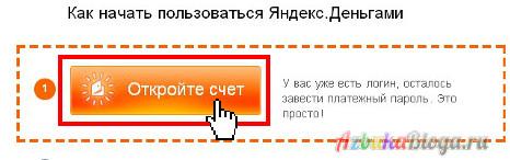 инструкция как зарегистрировать кошелек яндекс-деньги